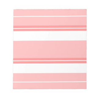 Strips - pink. notepad