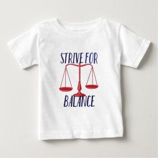 Strive For Balance Baby T-Shirt