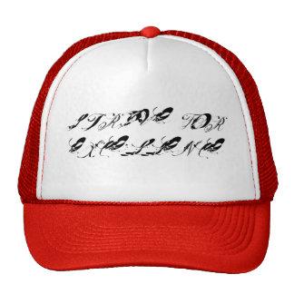 Strive For Excellence Graffiti Trucker Hat