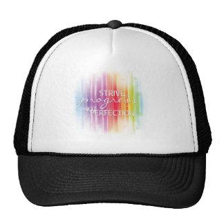 Strive for progress trucker hat