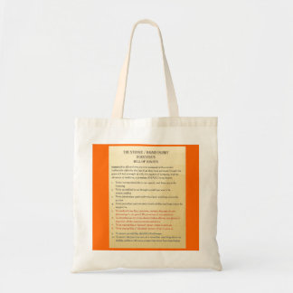Stroke / Brain Injury Bill of Rights by Tom Schuck Tote Bag