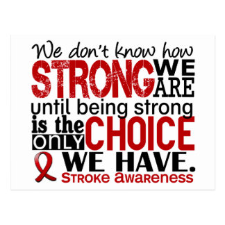 Gifts for stroke patient gift ftempo stroke patient gifts merchandise gift ideas source stroke how strong we are postcard negle Image collections