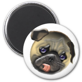 stroke my pug magnet