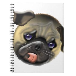 stroke my pug notebooks