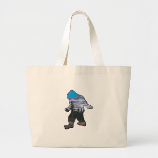 STROLL IN MOUNTAINS LARGE TOTE BAG