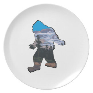 STROLL IN MOUNTAINS PLATE