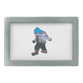 STROLL IN MOUNTAINS RECTANGULAR BELT BUCKLE