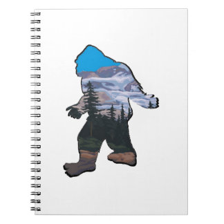 STROLL IN MOUNTAINS SPIRAL NOTEBOOK