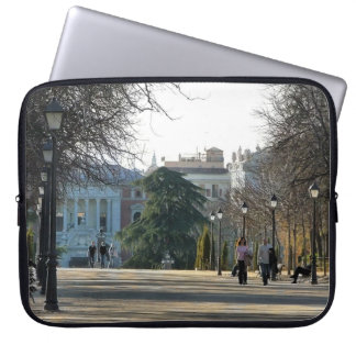 Stroll of the park of the Retirement, Madrid Computer Sleeve