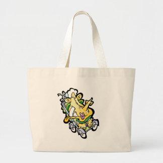 Stroller Face Canvas Bag