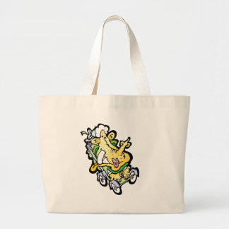 Stroller Face Jumbo Tote Bag