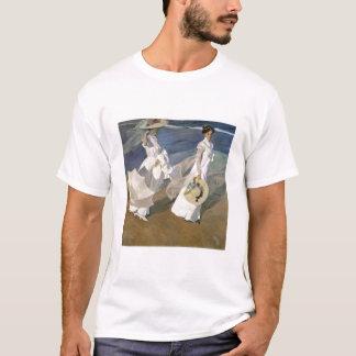 Strolling along the Seashore, 1909 T-Shirt