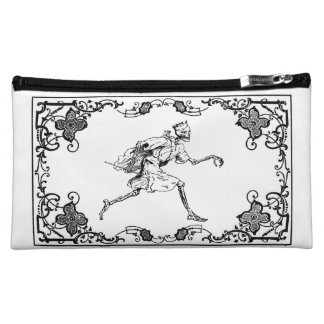strolling death archer makeup bag