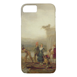 Strolling Players, 1793 (oil on tin plate) iPhone 7 Case
