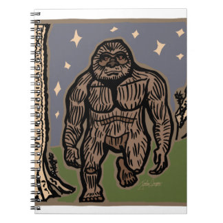 Strolling Sasquatch Notebooks