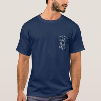 Stromness SC Logo on Navy T-Shirt