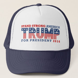 Strong America Trump Trucker Hat