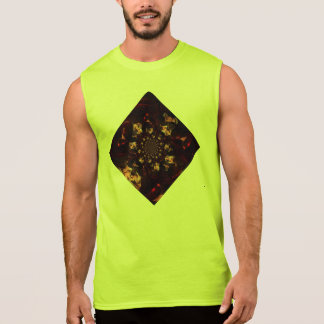 Strong and alive colors sleeveless shirt
