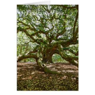 Strong And Bold Note Card