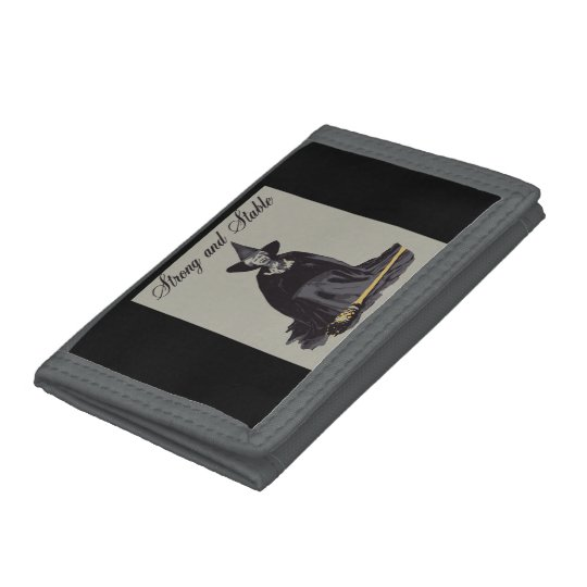 strong and stable tri-fold wallets