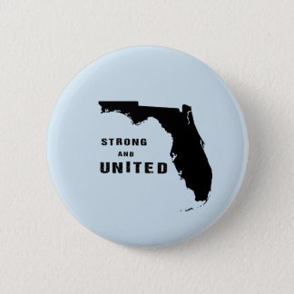 Strong and united florida after hurricane Irma 2 Inch Round Button