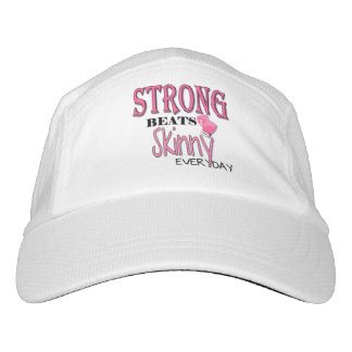 STRONG BEATS Skinny everyday! Pink Boxing Gloves Headsweats Hat