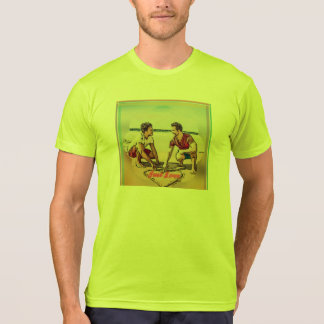 Strong colors, light and amused t-shirt