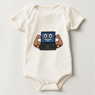 Strong Computer Baby Bodysuit