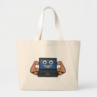 Strong Computer Large Tote Bag