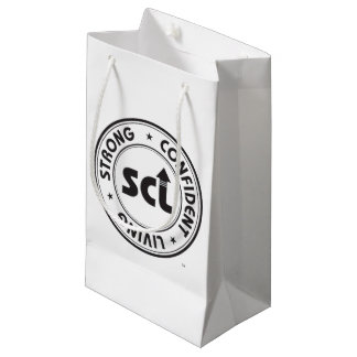 Strong Confident Living Small Gift Bag