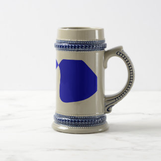 Strong Contrast Beer Stein