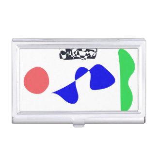 Strong Contrast Business Card Holder