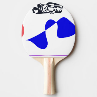 Strong Contrast Ping-Pong Paddle