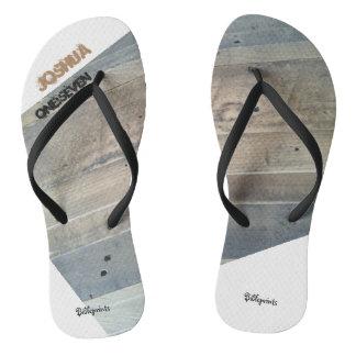 Strong & Courageous Flip Flops