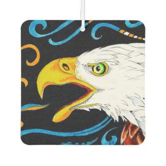Strong Eagle Ink Art Air Freshener