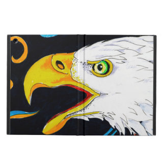 Strong Eagle Ink Art Cover For iPad Air