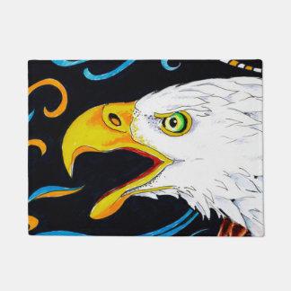 Strong Eagle Ink Art Doormat