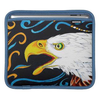 Strong Eagle Ink Art iPad Sleeve