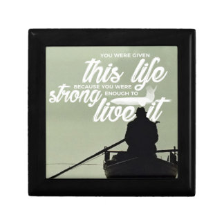 Strong Enough To Live This Life Gift Box