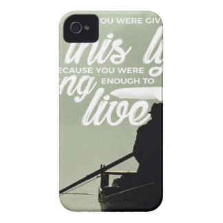 Strong Enough To Live This Life iPhone 4 Cover