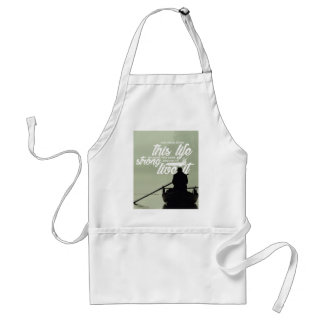 Strong Enough To Live This Life Standard Apron