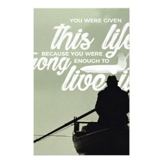 Strong Enough To Live This Life Stationery