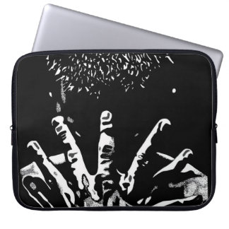 Strong hands Laptop Sleeve