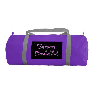 Strong is Beautiful Gym Bag