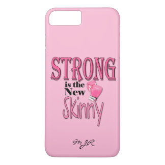 STRONG is the new Skinny! Pink Boxing Gloves iPhone 7 Plus Case