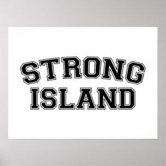 Strong Island, NYC, USA Poster