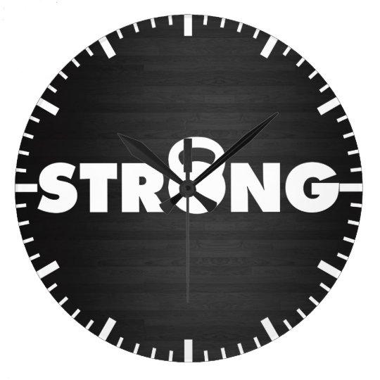 STRONG - Kettlebell Workout Motivational Wallclocks