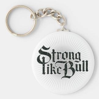 Strong Like Bull Keychain