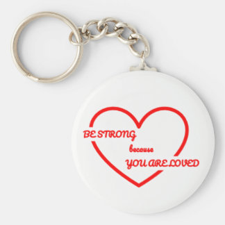 Strong Love Keychain