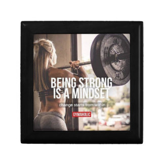 Strong Mindset - Women's Fitness Inspirational Gift Box
